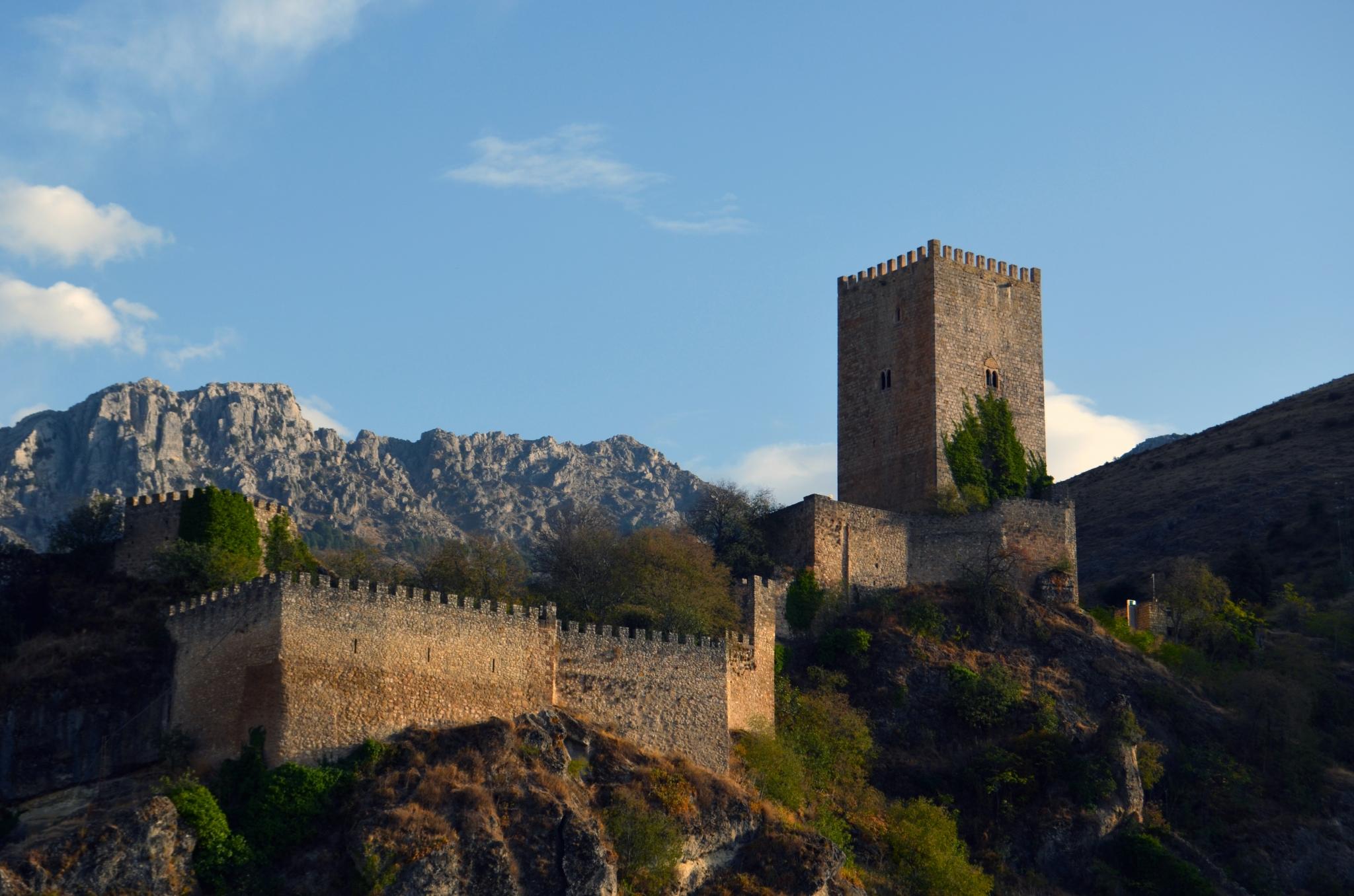 castillo de Cazorla, mirador el Balcón de Zabaleta.