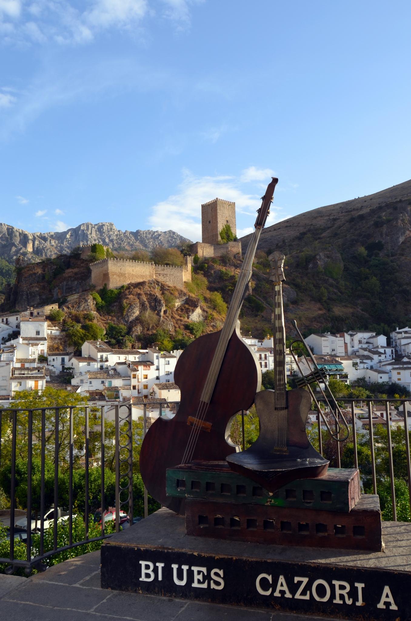 vistas mirador del Balcón de Zabaleta, blues