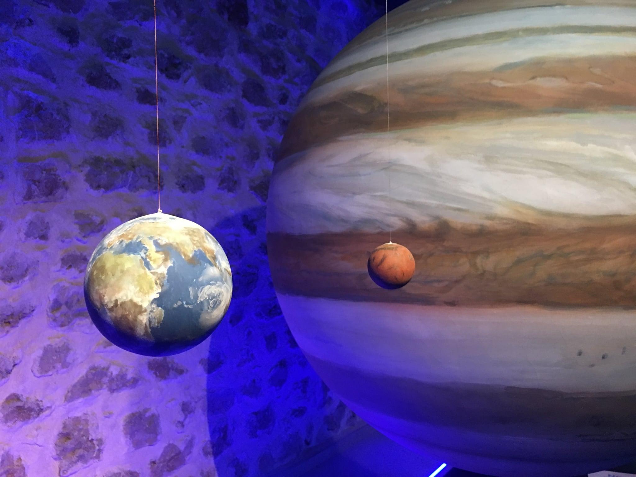 cosmolarium Centro de divulgación de astronomía, planetas