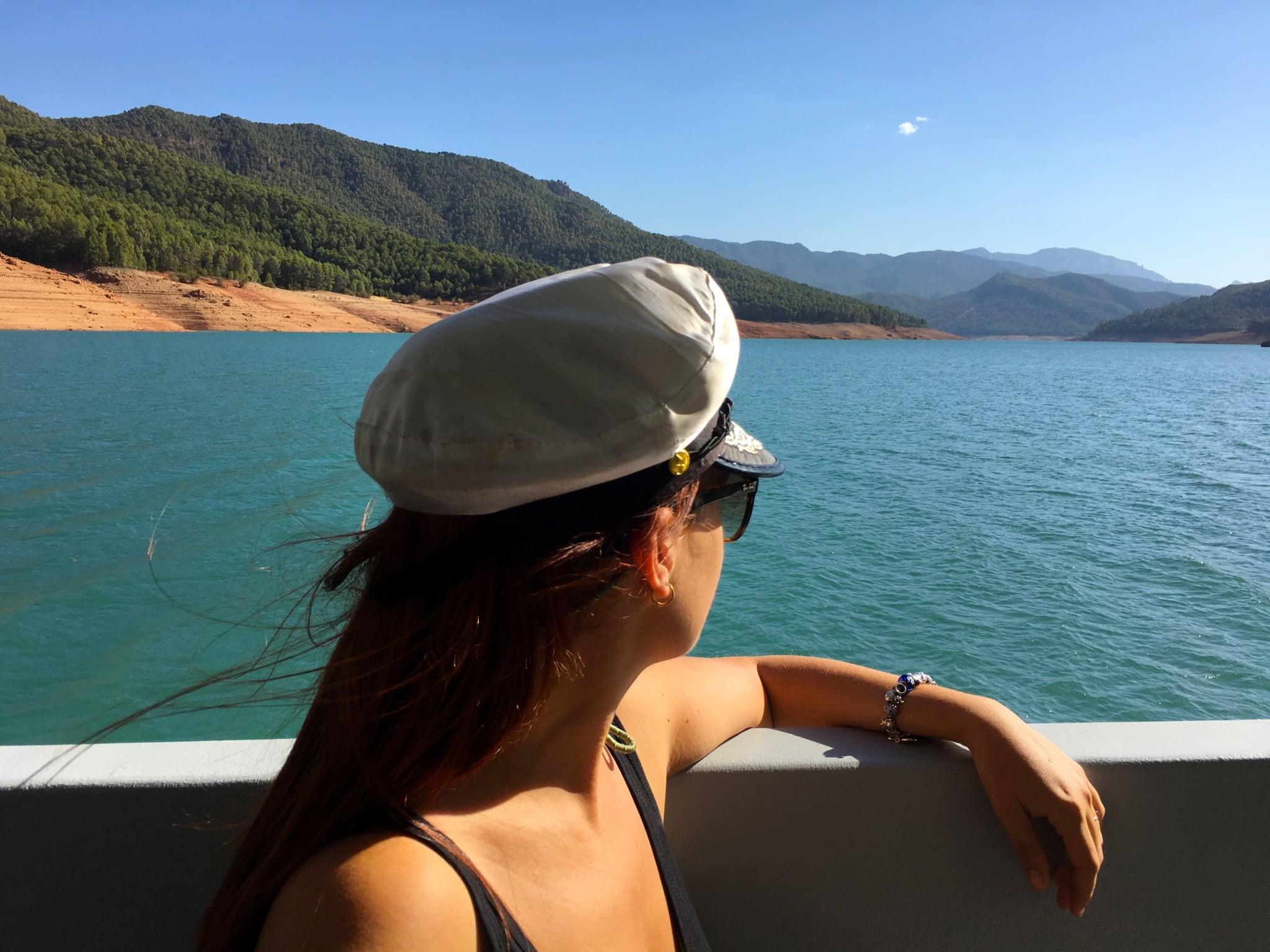 mamá en el barco