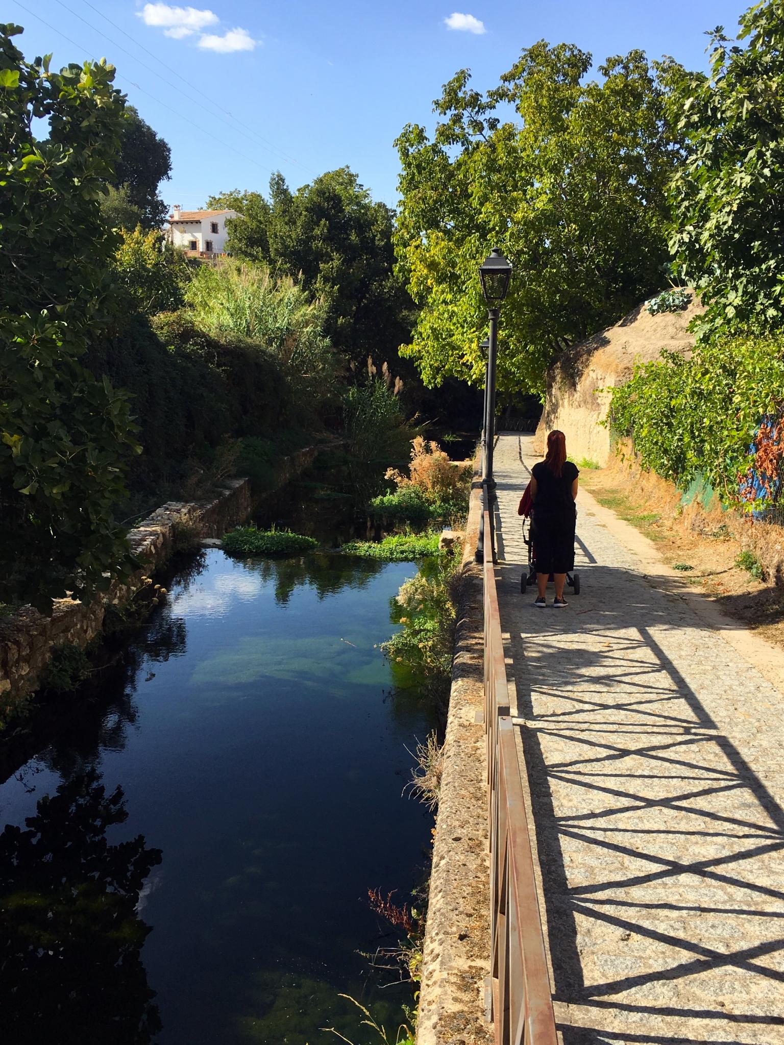 paseo con niños en Cazorla