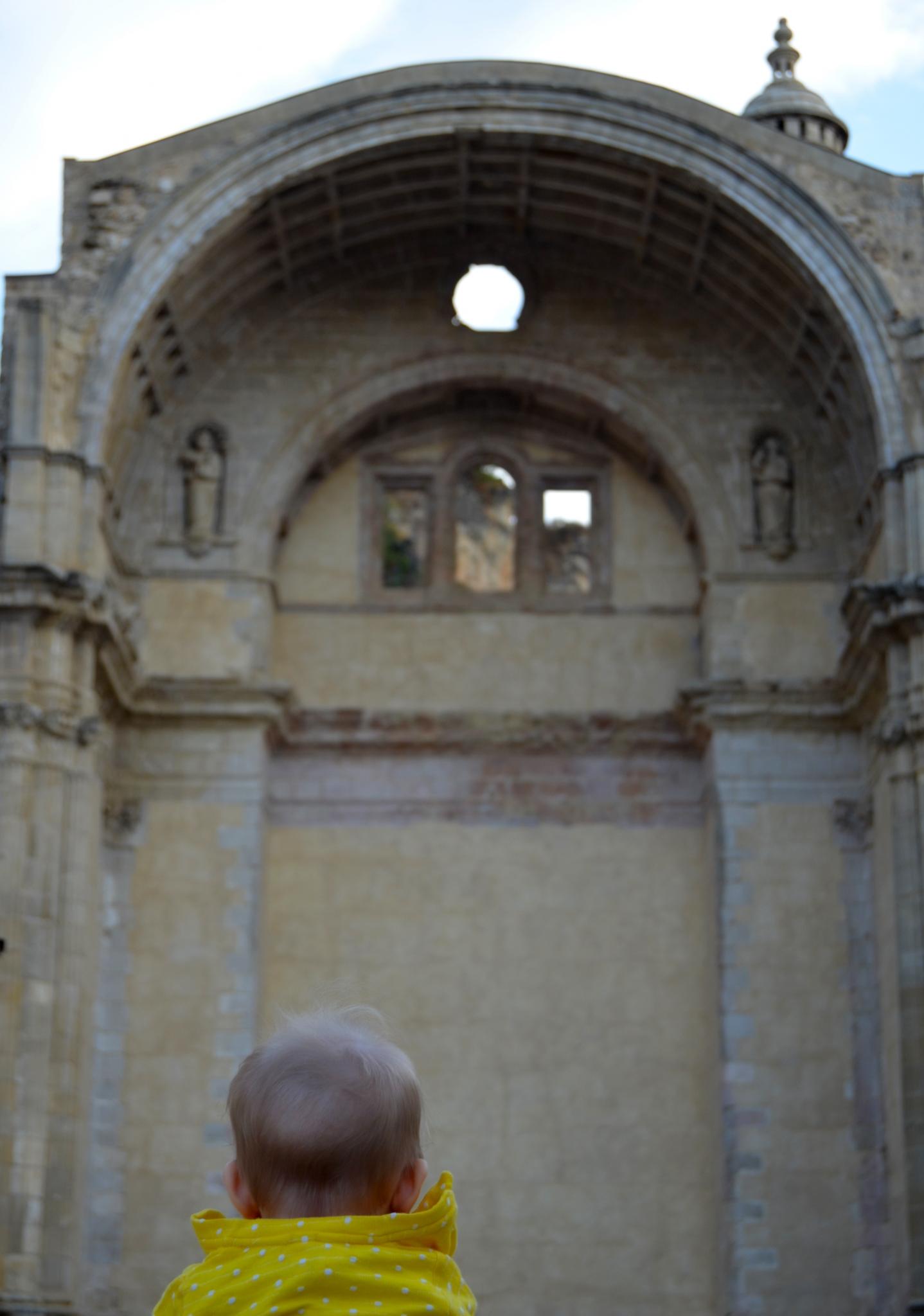 ruinas de la iglesia de santa maría