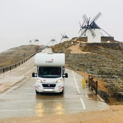 Año nuevo en La Mancha y Madrid