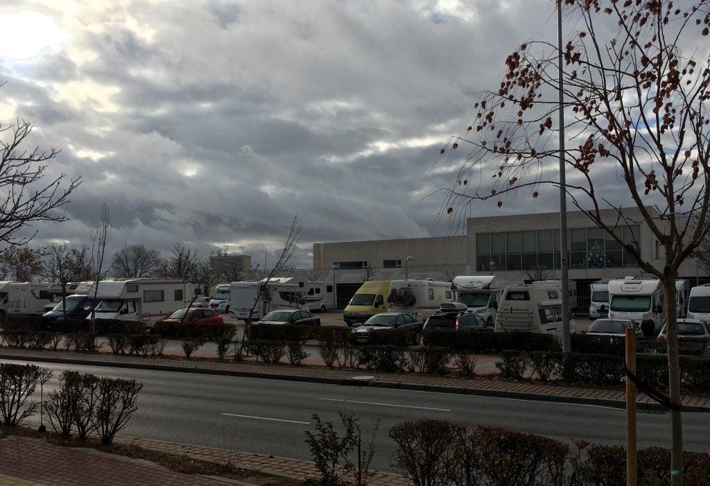 Madrid en autocaravana