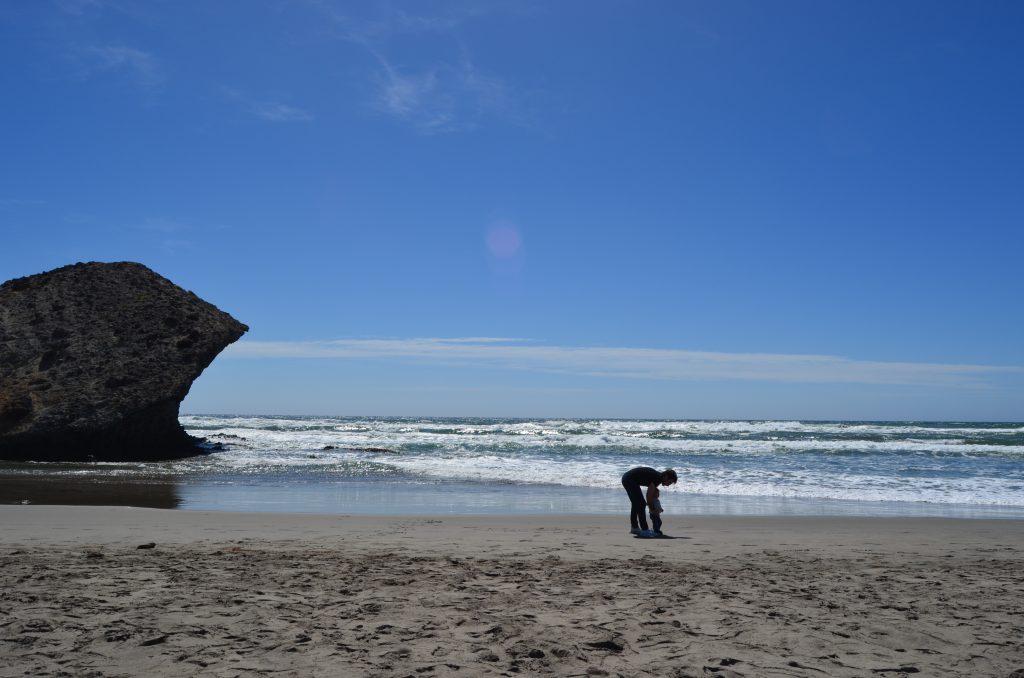playa monsul cabo de gata autocaravana