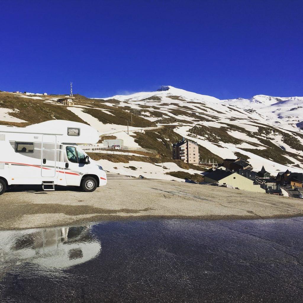 sierra nevada en autocaravana