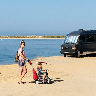 Costa de Huelva en autocaravana