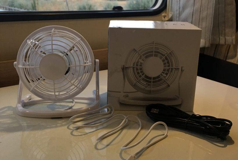 Ventilador portátil de USB