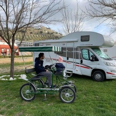 Córdoba y Vía Verde de la Subbética en autocaravana