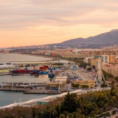 Málaga en autocaravana