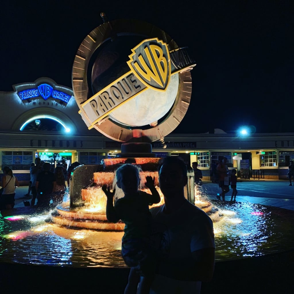 Parque Warner madrid autocaravana