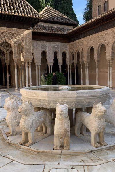 Alhambra en autocaravana