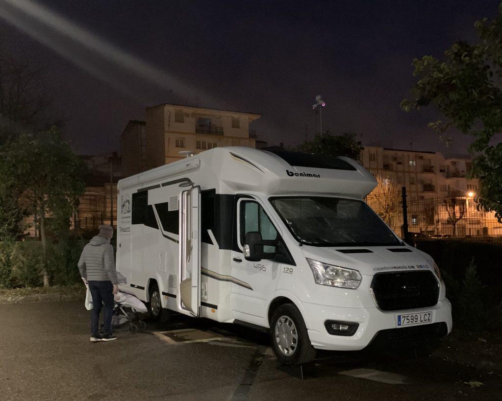 Extremadura en autocaravana