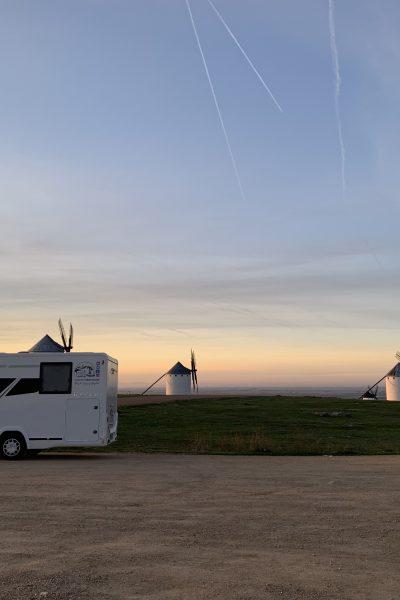 Castilla La Mancha en autocaravana