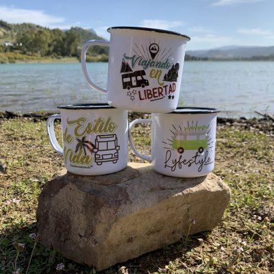 tazas camping