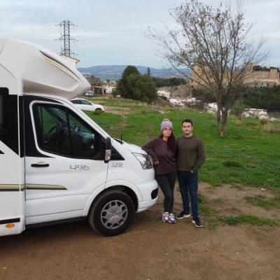 Con la autocaravana en Antequera