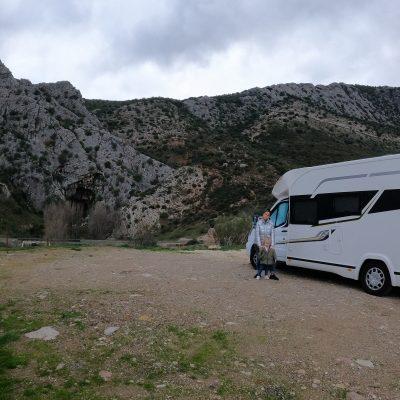 Cueva del Gato en autocaravana