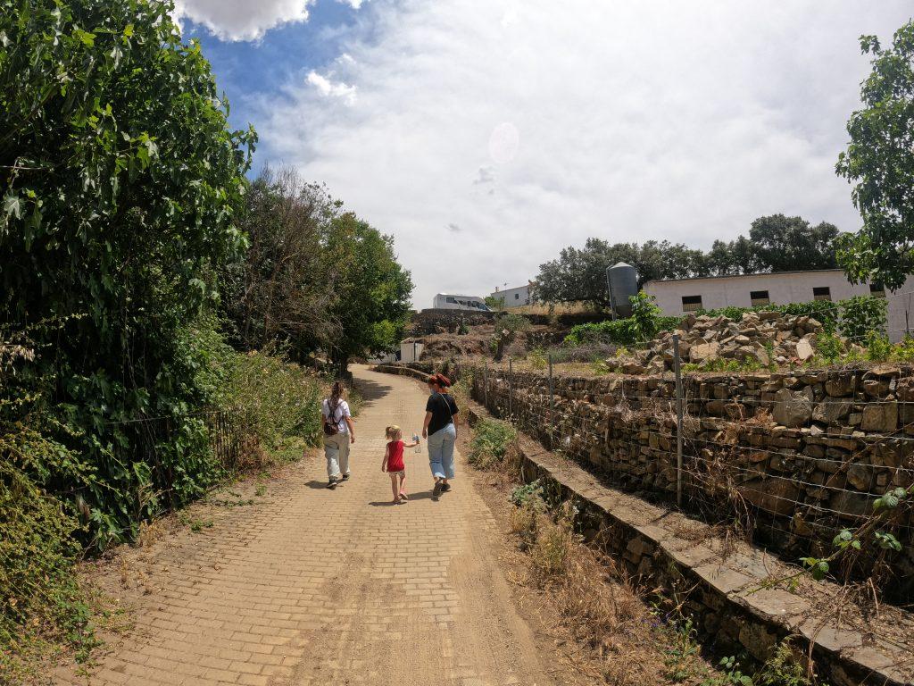 Medina de las Torres autocaravana