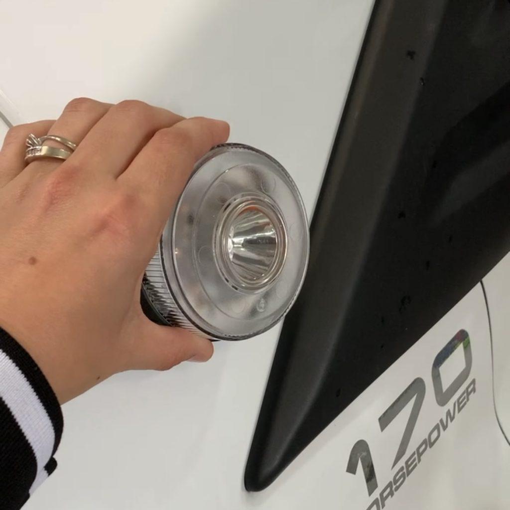 luz emergencia coche v16 homologada dgt